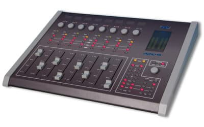New version ACUO 908 broadcast console